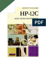 HP-12C Solutions Handbook