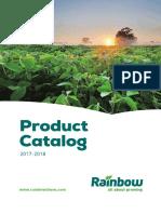 Product Catalog(2017 2018)