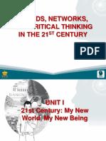 1 the 21st Century World