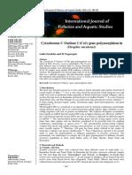 Co1 Gene Polymorphism
