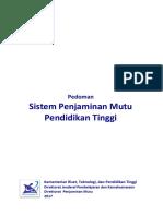Buku Pedoman SPM Dikti 2017