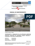 2.4 Manual de Mantenimiento