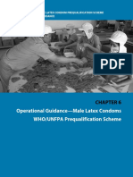 WHO_Operational Guidance_Male Latex Condoms_Ch 6