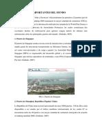 Puertos Más Importantes Del Mundo