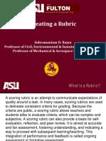 5 Creating a Rubric