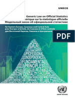 GENERIC LAW ON OFFICIAL STATISTICS for Eastern Europe, Caucasus and Central Asia__UNECE_ECECESSTAT20163_E.pdf
