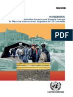 Handbook on the Use of Administrative Sources and Sample Surveys to Measure International Migration in CIS Countries_UNECE_2016_ECECESSTAT20162_ENG_web