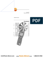Hướng dẫn sử dụng máy đo tốc độ vòng quay Testo 470 - testostore.vn