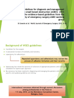 Bologna Guidelines for Diagnosis and Management