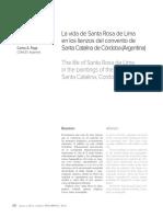 LA VIDA DE SANTA ROSA, CONVENTO DE SANTA CATALINA DE CORDOVA (ARGENTINA).pdf