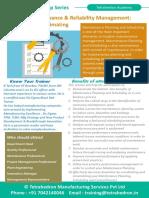 Modern Maintenance & Reliability Management