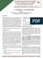 """GST (a new Tax Regime)'""""A Conceptual Study"""