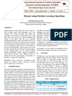 Analyzing Titanic Disaster using Machine Learning Algorithms