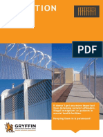 Gryffin Pty Ltd Products and Solutions Provided to the Detention Industry