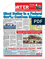Bikol Reporter July 8 - 14, 2018 Issue