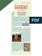 Garbas, Boletín digital de Rolde de Estudios Aragoneses, nº 16 (julio 2018)
