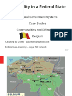 Belgium Local Government Slides