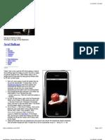 Aral Balkan · Private iPhone APIs in XCode for Dummies