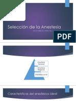 Selección de la Anestesia.pptx