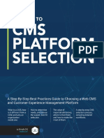 A Guide to CMS Platform Selection