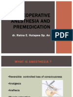 Preoperative Anesthesia and Premedication(2)