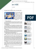 Penerapan Sistem Manajement SHE OHSAS18001