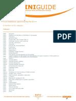 EUFIC E-number Mini Guide 2