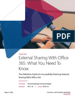 Whitepaper External Sharing With Office 365 September 2016