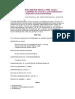 NOM-086-SSA1-1994, Bienes y Servicios. Alimentos y Bebidas No Alcoholicas Con Modificaciones en Su Composicion