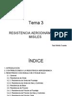 RESISTENCIA AERODINÁMICA DE MISILES