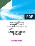 Land cruiser prado owners manual