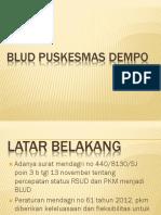 Presentasi Blud Puskesmas Dempo