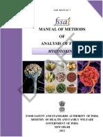 Aflatoxin Mycotoxin Manual