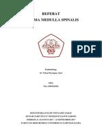 Referat Trauma Medulla Spinalis