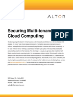 Altor White Paper Securing Multi-Tenancy and Clouds June 2010