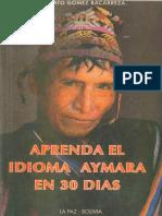 Aprenda El Idioma Aymará en 30 Días