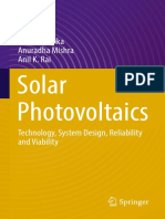 N.D. Kaushika,Anuradha Mishra,Anil K. Rai (Auth.) - Solar Photovoltaics_ Technology, System Design, Reliability and Viability (2018, Springer International Publishing)