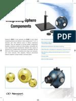 Integrating Spheres Datasheet