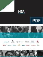 HEA Private Limited - Portfolio 2018