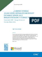 EMC VNX 5400 Storage Solution