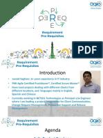 Req Pre Req - Agile Product Roadmap - Final