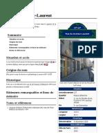 Rue Du Docteur-Laurent