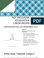 Pkp Program Kesehatan Lingkungan s.d Desember 2017