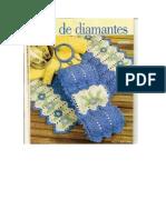 Crochet Tapete e Flores