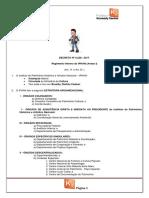 Decreto Nº 9.238 - 2017 Aula 1
