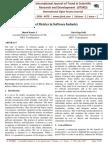 Novel Metrics in Software Industry