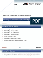 2_Spanning Tree Protocol Concepts and Configuration 1