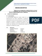 Memoria Descriptiva Plaza Quirihuac