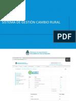 Sistema de Gestión Cambio Rural