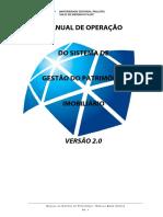Manual de Operação - Sistema de Gestão Do Patrimônio Imobiliário